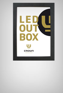 CROWN LED Box einseitig