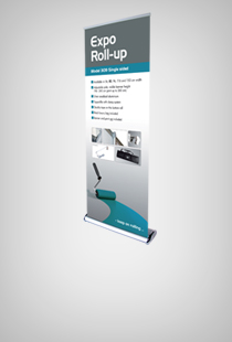 Expo Roll-Up einseitig