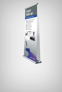 Expo Roll-Up doppelseitig